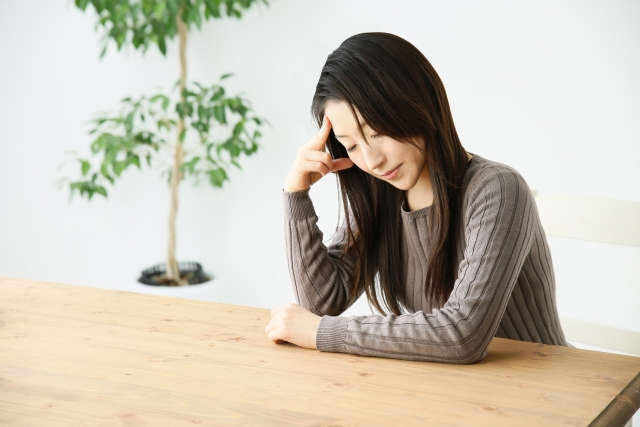 ストレスによる体調の変化